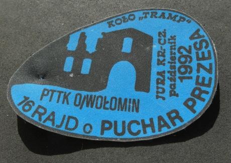 Rajd o Puchar Prezesa 1992 - PTTK Wołomin