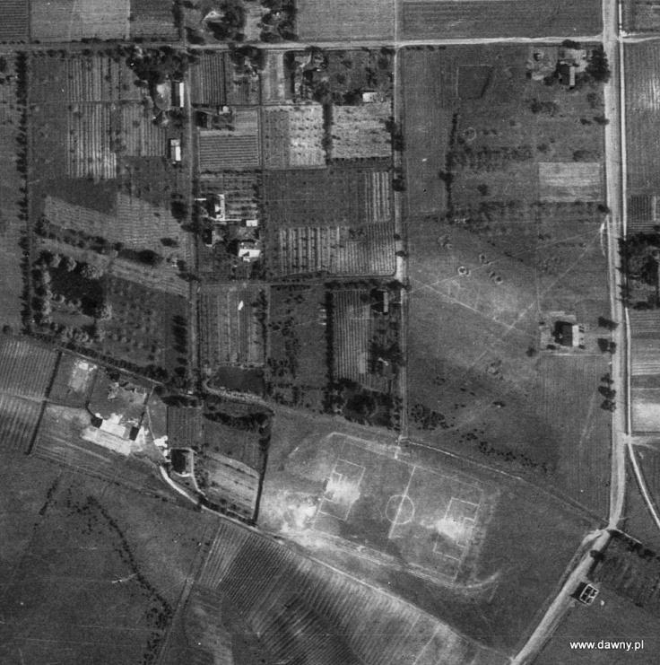 Boisko Huraganu w roku 1947