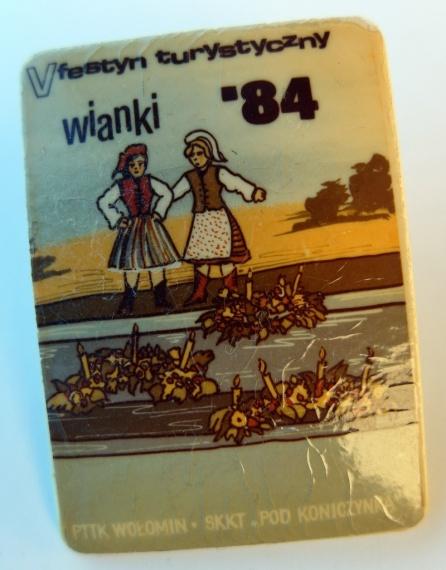 V Festyn Turystyczny Wianki '84 - PTTK Wołomin