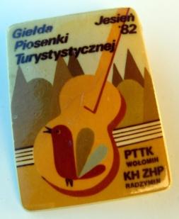 Giełda Piosenki Turystycznej Jesień '82 - PTTK Wołomin i KH ZHP Radzymin