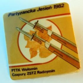 Partyzncka Jesień 1982 - PTTK Wołomin i Czapury
