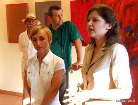Zdzisława Ludwiniak i Jolanta Boguszewska