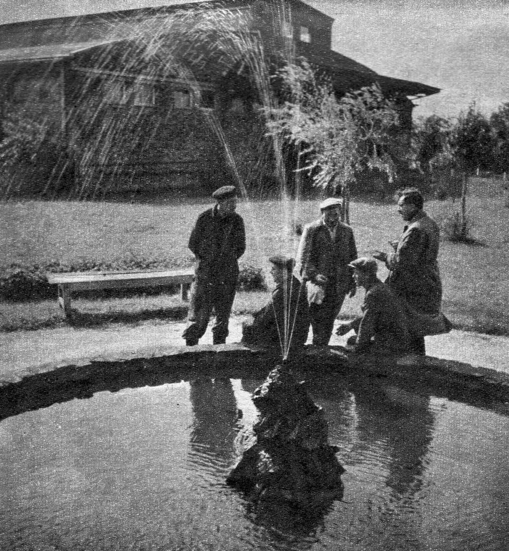 Stolarka, rok 1957