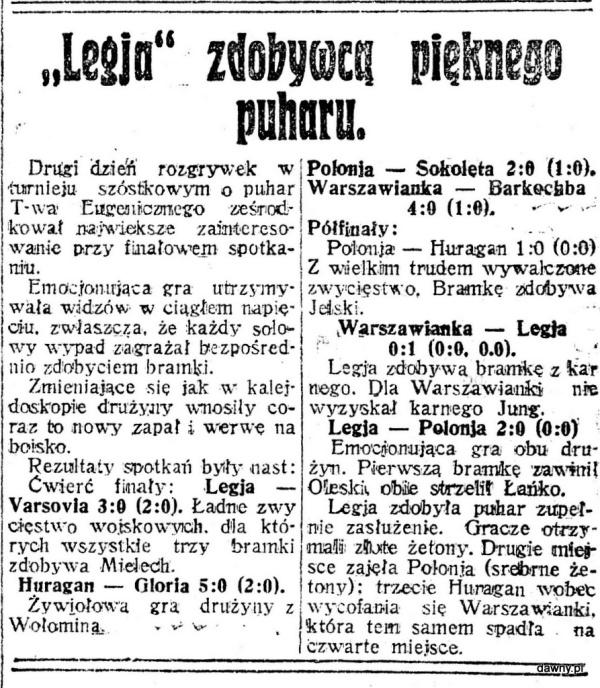 Nasz Przegląd : organ niezależny, R.4, nr 301 (2 listopada 1926) + dod. sportowy