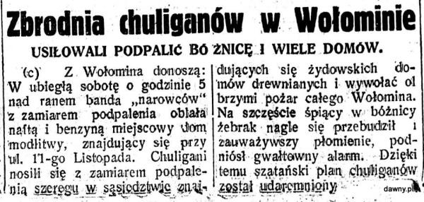 Nasz Przegląd : organ niezależny, R.15, nr 268 (20 września 1937) + dod.