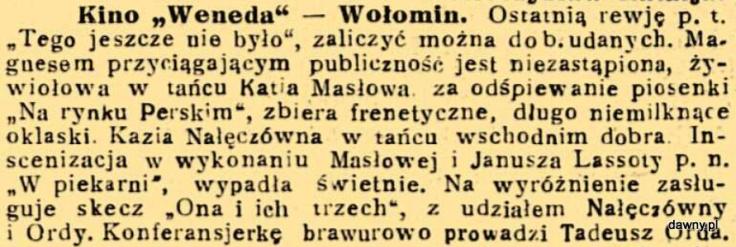 Trubadur Warszawy : kabaret artystyczny : humor, piosenki, satyra, monologi, deklamacje, kuplety, jednoaktówki : w kazdy czwartek nowy numer z nowym programem, R. 23, nr 14 (5 kwietnia 1931) - Numer świąteczny