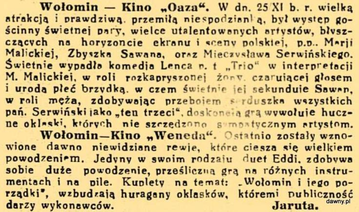 Trubadur Warszawy : kabaret artystyczny : humor, piosenki, satyra, monologi, deklamacje, kuplety, jednoaktówki : w kazdy czwartek nowy numer z nowym programem, R. 23, nr 50 (12 grudnia 1931)