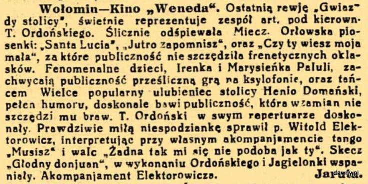 Trubadur Warszawy : kabaret artystyczny : humor, piosenki, satyra, monologi, deklamacje, kuplety, jednoaktówki : w kazdy czwartek nowy numer z nowym programem, R. 24, nr 21 (21 maja 1932)