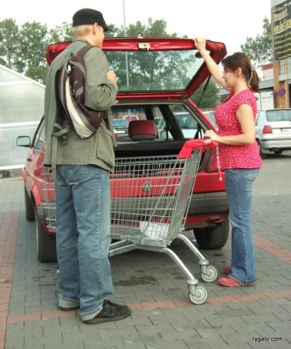 mogę odprowadzić wózek...?