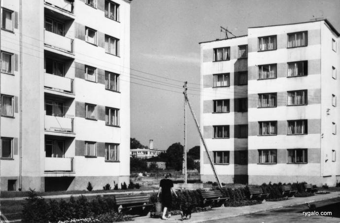 Wołomin - osiedle Przedsiębiorstwa Naftowego 1965