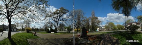 skwer i pomnik NSZ