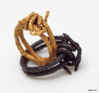 rings - barbed wire