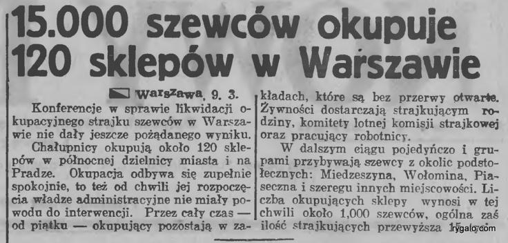 Nowy Kurjer - dziennik poświęcony sprawom politycznym i społecznym 1937.03.10 R.48 Nr56