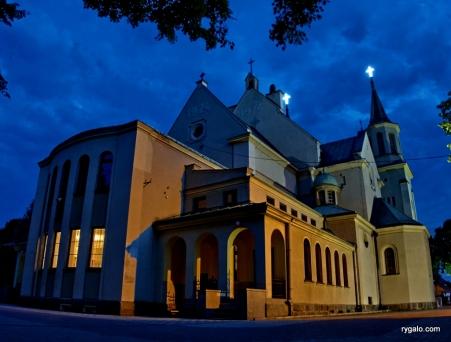 kościół w Wołominie