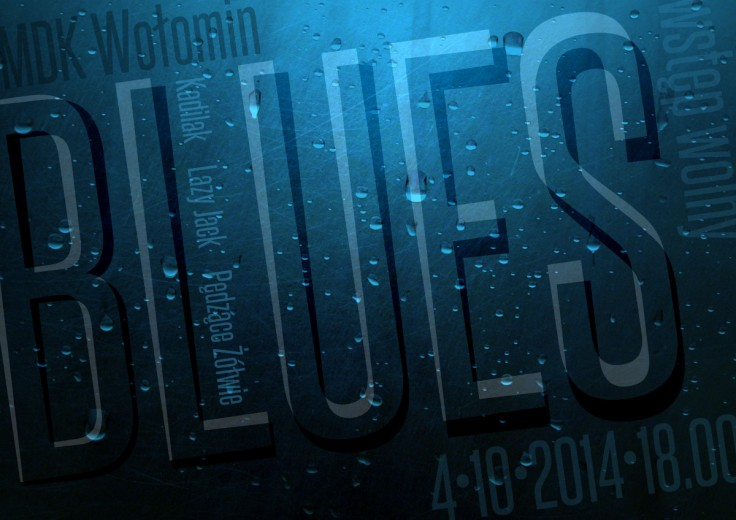 plakat bluesowy