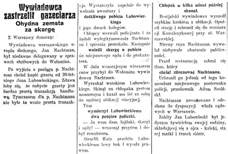 Głos Poranny, R.2, nr 192 (16 lipca 1930)