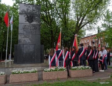 odsłonięcie tablicy Woyciechowskiego