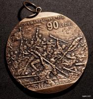 medal na 90 lecie Bitwy Warszawskiej