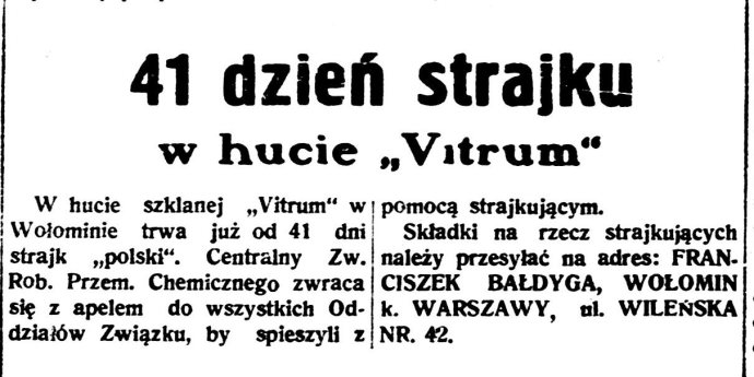 Robotnik : organ Polskiej Partyi Socyalistycznej., R.43, nr 181 (22 czerwca 1937)