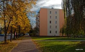 osiedle Lipińska jesienią