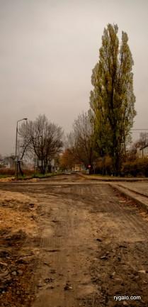 przebudowa linii kolejowej