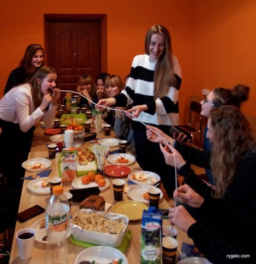 świąteczne spotkanie U-18