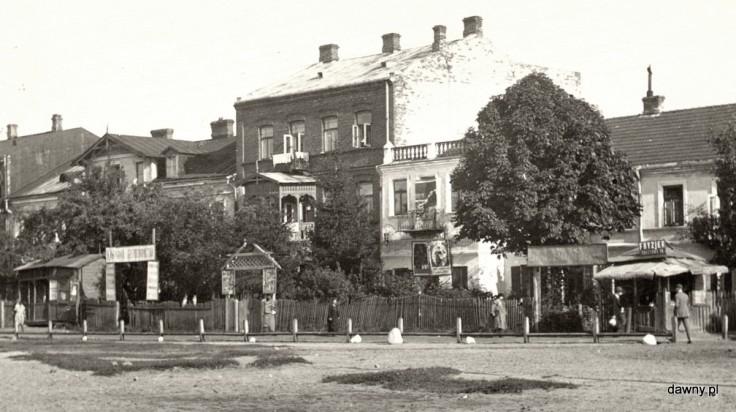 1936 - plac Marszałka Piłsudskiego