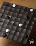 Zwycięstwo czarnych - kwadrat na obszarze 6x6.