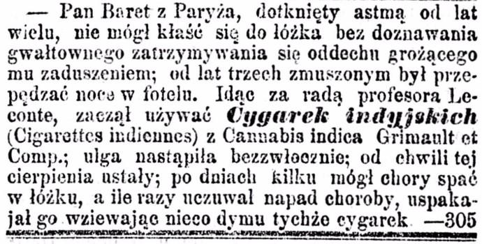 Kurjer Warszawski. R.61, nr 87a (20 kwietnia 1881)