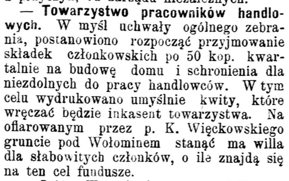 Gazeta Handlowa pismo poświęcone handlowi, przemysłowi fabrycznemu i rolniczemu. R.36, no 109 (15 maja 1899)