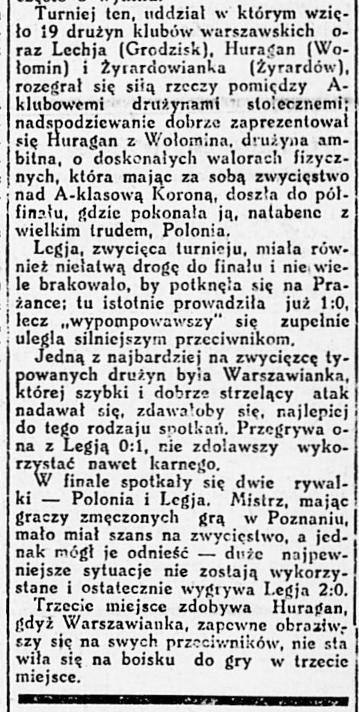 Stadjon : tygodnik poświęcony sprawom sportu i przysposobienia wojskowego R.3, nr 25 (18 czerwca 1925)