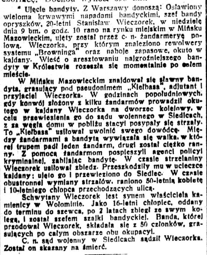 Dziennik Poznański : wychodzi codziennie z wyjątkiem poniedziałków i dni poświętnych R.59, nr 284 (14 grudnia 1917)s