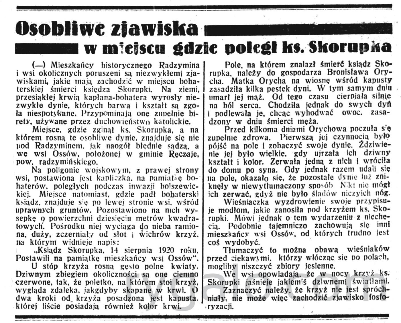 Dziennik Poznański - wychodzi codziennie z wyjątkiem poniedziałków i dni poświętnych R.75, nr 223 (28 września 1933)