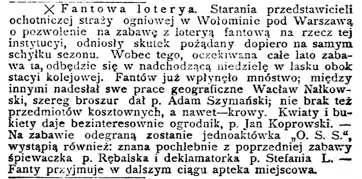 Nowa Gazeta : poświęcona wszelkim zjawiskom życia społecznego, R.5, nr 395 (30 sierpnia 1910)