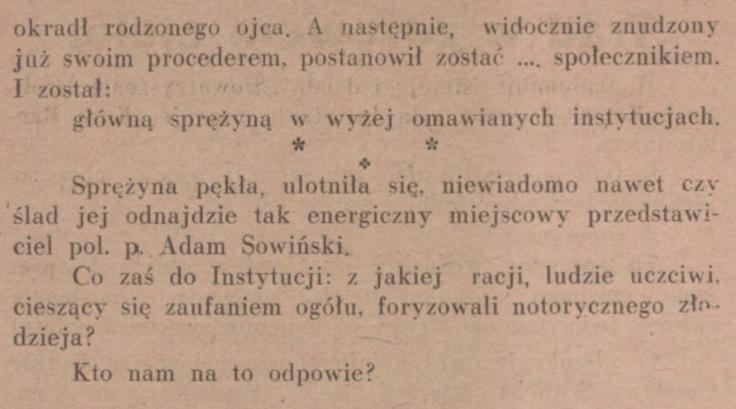 Głos Wołomina, Radzymina, Mińska Mazow. R. 1, nr 4 (lipiec 1930)