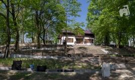 park przy Muzeum Nałkowskich--4