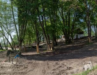 park przy Muzeum Nałkowskich-