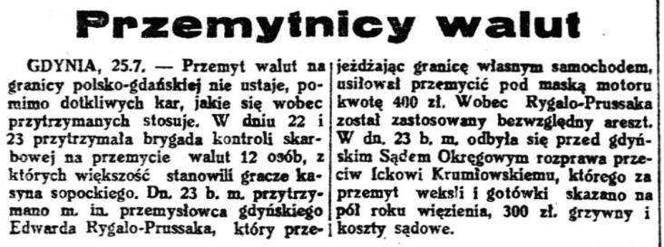 Gazeta Polska : pismo codzienne R.8, nr 207 (26 lipca 1936)