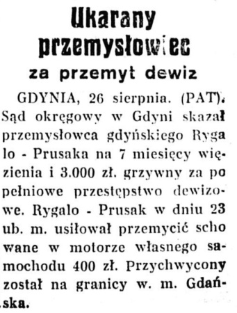 Głos Poranny R.8, nr 234 (27 sierpnia 1936)