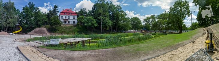 park przy Muzeum Nałkowskich--7