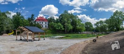 park przy Muzeum Nałkowskich--8